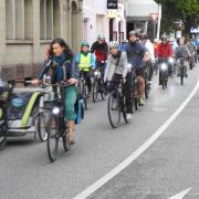 Auf dem Fahrrad durch Pforzheim