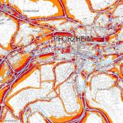 Lärmkarte Pforzheim